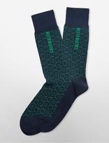 Calvin Klein Geometric Tile Socks