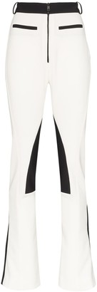 Thierry Mugler High Rise Panelled Trousers