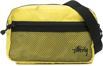 Stussy Logo-Print Belt Bag