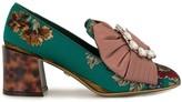 Dolce & Gabbana Jackie bejeweled bow pumps