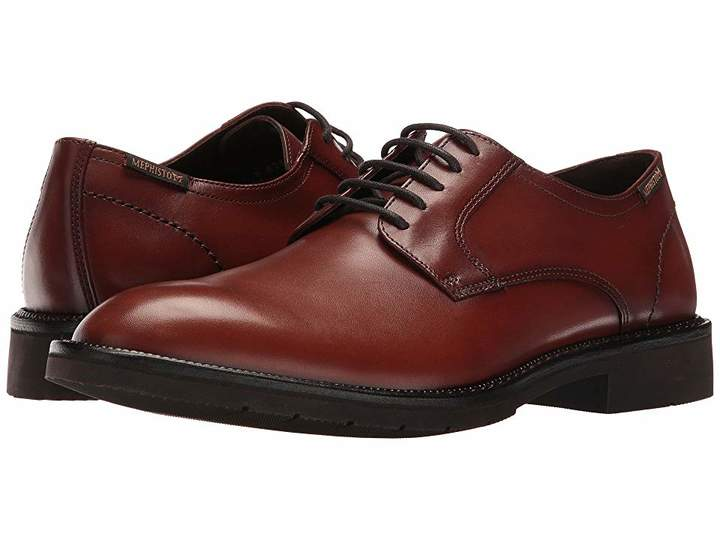 Mephisto Taylor Men's Lace Up Wing Tip Shoes