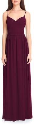 #Levkoff Chiffon A-Line Gown