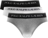 Ralph Lauren Underwear 3 Pack Briefs Grey