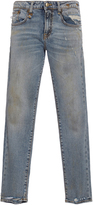R 13 Alison Cropped Straight Legged Jeans