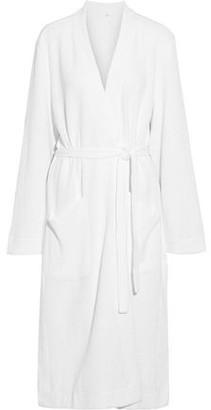 Skin Callahan Waffle-knit Cotton Robe