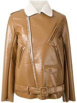 Toga 'Bonding' biker jacket - women - Polyester - 36