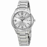 Maurice Lacroix Women's MI1014-SS002-130 Miros Analog Display Silver-Tone Watch