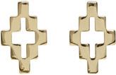 Marcelo Burlon County of Milan Gold Cross Earrings