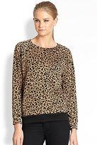 A Fine Line Mona Leopard-Print Sweatshirt