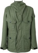Rag & Bone hooded coat - men - Cotton/Nylon/Polyester - XL