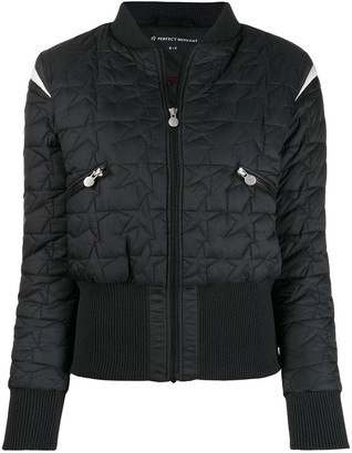 Perfect Moment Glacier star puffer jacket