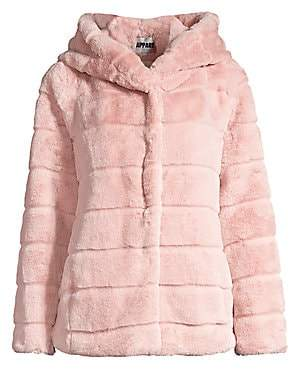 Apparis Women's Goldie Hooded Faux Fur Jacket