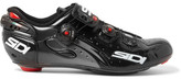 SIDI Wire Carbon Vernice Microfibra Techpro Cycling Shoes - Black