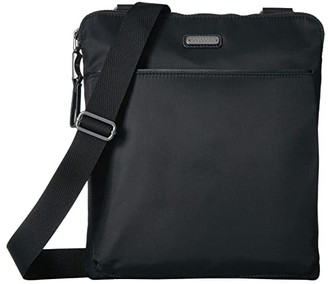 Baggallini Tribeca Crossbody (Black) Handbags