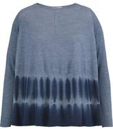 Autumn Cashmere Tie-Dyed Cashmere Top