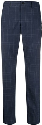 Comme des Garcons Check Slim-Fit Chinos