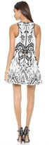 Juicy Couture Deco Holiday Print Dress