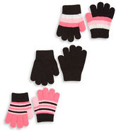 Capelli New York Two-Pack Knit Gloves