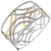 Effy 3.08 Total Carat Weight Diamond with White and Yellow Bangle