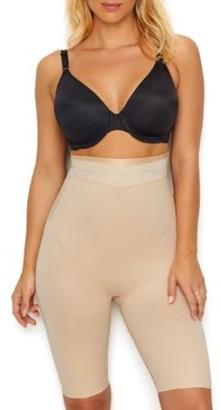 Maidenform Womens Skin Spa Firm Control High-Waist Thigh Slimmer Style-DM0047