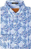 Simon Carter Overlapped Leaves Shirt