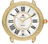 Michele 'Serein 16 Diamond' Gold Plated Watch Case, 34mm x 36mm