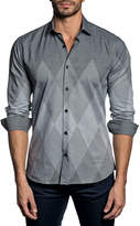 Jared Lang Semi-Fitted Long-Sleeve Sport Shirt T-507