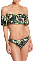 Lucky Brand Off-the-Shoulder Bandeau Bikini Top