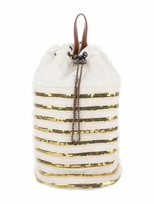 Chanel Cubano Trip Backpack White