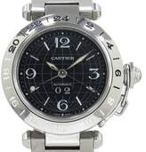 Cartier Pasha C W31049M7 Stainless Steel Automatic 35mm Mens Watch