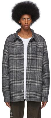 Han Kjobenhavn Grey Checked Over Shirt