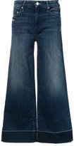 Mother cropped flared trousers - women - Cotton/Polyester/Spandex/Elastane - 27