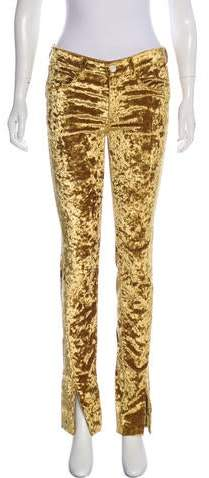 5a64e5bed9a1ce Gold Velvet Pants - ShopStyle