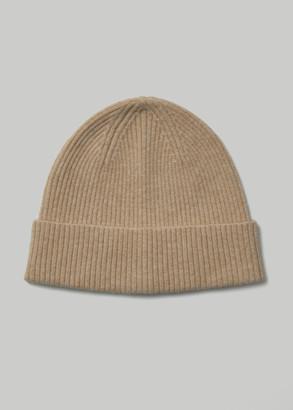Totokaelo Archive Women's Cece Beanie Hat in Beige Wool/Nylon/Acrylic