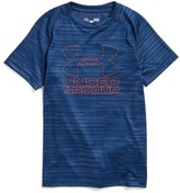 Under Armour Boy's Big Logo Print T-Shirt