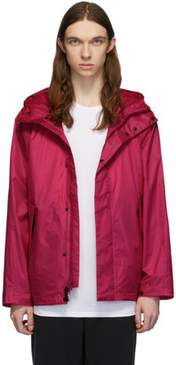 The Very Warm Pink Ripstop Hooded Jacket