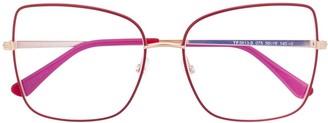 Tom Ford FT5613B butterfly-frame glasses
