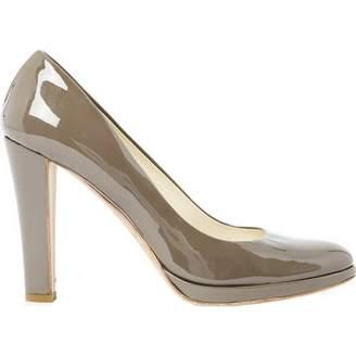 Jil Sander Grey Patent leather Heels