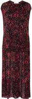 IRO Agneska Paisley-print Georgette Maxi Dress - Black