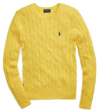 Ralph Lauren Cable-Knit Cotton Jumper