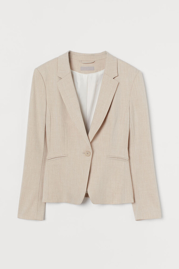 Thumbnail for your product : H&M Fitted Blazer - Beige