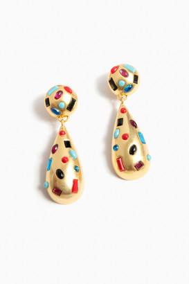Confetti Gem Drop Earrings
