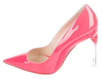 Christian Dior Patent Pointed-Toe Pumps