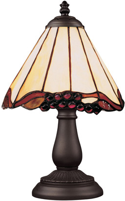 Artistic Home & Lighting Mix And Match Section Tiffany Bronze Table Lamp Iii