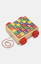Melissa & Doug 'ABC' Block Cart