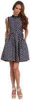 Kate Spade Gingham Addison Dress (French Navy Spring Gingham) - Apparel