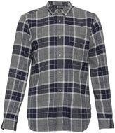 French Connection Large Check Flannel Shirt