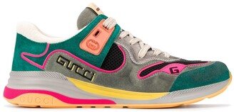 Gucci Panelled Low-Top Sneakers