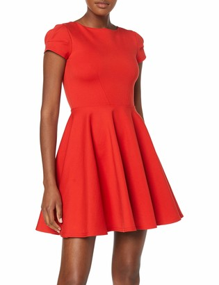 Closet London Women's Short Sleeve Skater Dress Party