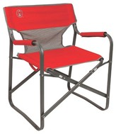 Coleman ; Outpost Breeze Deck Chair - Red